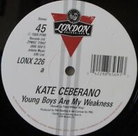KATE CEBERANO Young Boys Are My Weakness 7 INCH VINYL UK ...