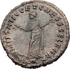 DIOCLETIAN 299AD Big Follis Authentic Ancient Roman Coin Carthago i63194