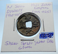 1101AD CHINESE Northern Song Dynasty Antique HUI ZONG Cash Coin of CHINA i72512