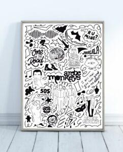 arctic monkeys poster for sale ebay