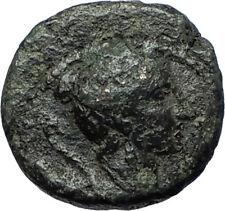 Amphipolis in Macedonia 148BC Authentic Ancient Greek Coin ARTEMIS BULL i68364