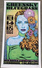 greensky bluegrass poster ebay