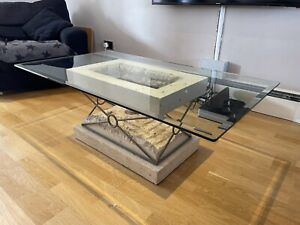 stone coffee tables for sale ebay