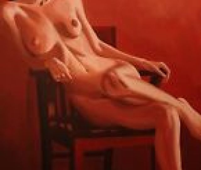Erotic Art Nude A Fine Art Print Girl In Chair By Mark Roberts