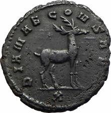 GALLIENUS Authentic Ancient 267AD Animal Series Genuine Roman Coin STAG i75581