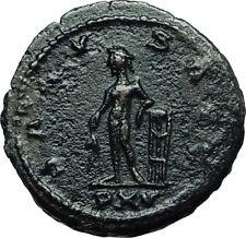 GALLIENUS Authentic Ancient 267AD Antioch Genuine Roman Coin w God APOLLO i66491