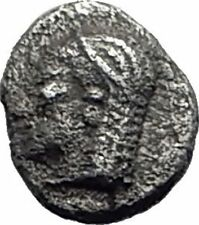 KEBREN in TROAS 5thCenBC Authentic Ancient Silver Greek Obol Coin RAM i64672