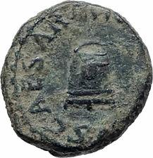CLAUDIUS Authentic 41AD Rome Food MODIUS Original Ancient Roman Coin i74827