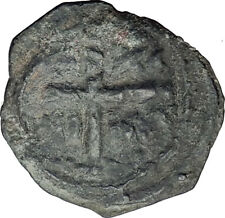 CRUSADERS of Antioch Tancred Ancient 1101AD Byzantine Time Coin CROSS i64467