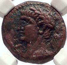 CLAUDIUS 49AD Canatha Canata Kanata of Decapolis Ancient Roman Coin NGC i69332