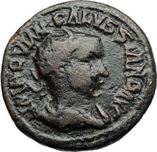 VOLUSIAN Authentic Ancient 251AD fAntioch Pisidia Roman Coin STANDARDS i71166