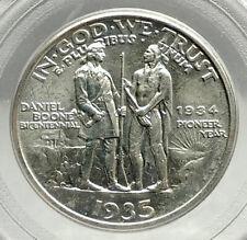 1935 DANIEL BOONE 200th Commemorative US Silver Half Dollar Coin PCGS MS i76426