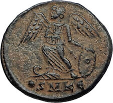 CONSTANTINE I the GREAT Founds Constantinople Original Ancient Roman Coin i67404