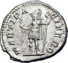 SEVERUS ALEXANDER 222AD Quality Ancient Silver Roman Coin Mars War God i73564