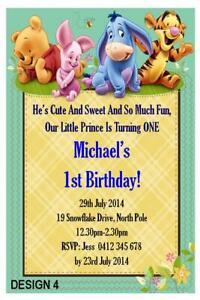 winnie the pooh birthday greeting