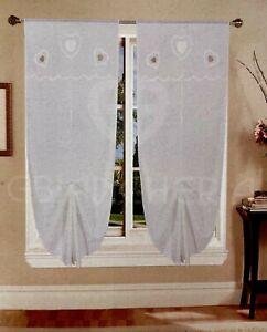 Questo è il sistema ideale per chi desidera applicarci delle tende a vetro prive di arricciatura e che rimangano perfettamente tese. Tende A Pacchetto Acquisti Online Su Ebay