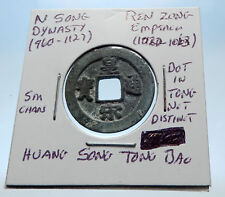 1022AD CHINESE Northern Song Dynasty Antique REN ZONG Cash Coin of CHINA i72710