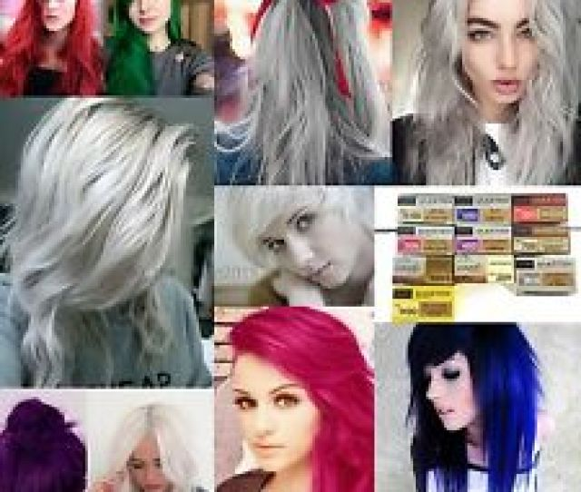 Dcash Master Hair Color Cream Permanent Dye Greywhitevioletsilverblue