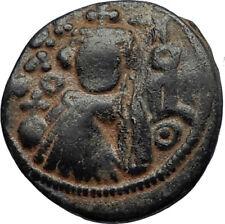 Islamic Arab Byzantine UMAYYAD Caliphate 670AD Authentic Ancient Coin  i67299