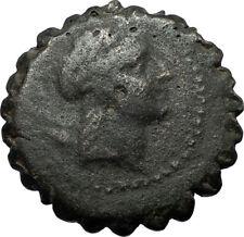 DEMETRIOS I Soter Authentic Ancient 162BC Seleukid Greek Coin w APOLLO i68056