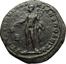 MACRINUS and DIAUDUMENIAN Marcianopolis Ancient Roman Coin HERMES MERCURY i70725