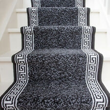Black Stair Carpet For Sale Ebay   Carpet For Stairs And Hallway   Living Room   Low Pile   Contemporary   Country Style   Quirky