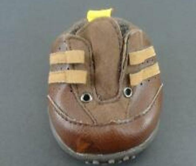 Build A Bear Bbw Brown Athletic Boys One Replacement Shoe Only Accessory