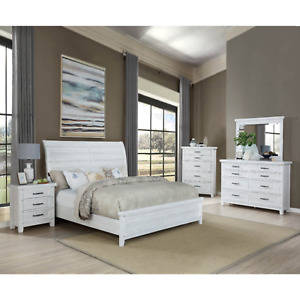 king white rustic bedroom furniture