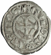 CRUSADERS of ATHENS Greece DUKE GUY II de La Roche BI Silver Antique Coin i74590