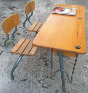 bureau ecolier ancien ebay