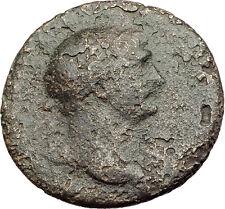 TRAJAN 108AD Rome Sestertius VICTORY v DACIA Trophy Captive Roman Coin i62570