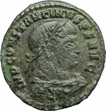 CONSTANTINE I the GREAT 314AD Rome  Authentic Ancient Roman Coin SOL SUN i77102