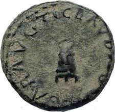 CLAUDIUS - Genuine 41AD Rome Food MODIUS Authentic Ancient Roman Coin i71740