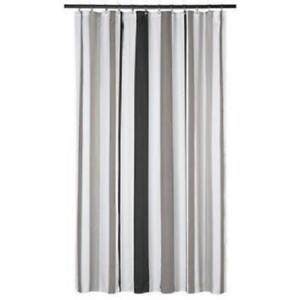 extra long striped shower curtains for