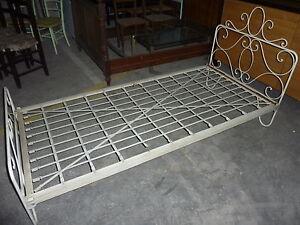 lit fer forge ancien ebay