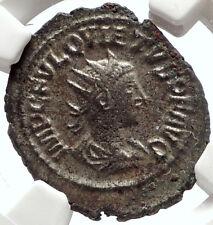 QUIETUS son of Macrianus 260AD Usurper Authentic Ancient Roman Coin NGC i66853