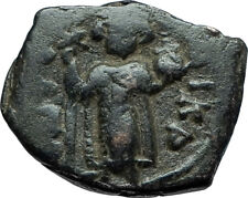CONSTANS II Pagonatos 641AD Authentic Ancient Byzantine Medieval Coin i66085