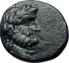 TABAI in CARIA Authentic Ancient 1st CenBC Greek Coin ZEUS GEMINI CAPS i69207