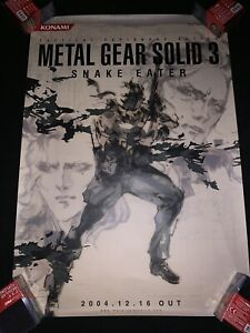 metal gear solid video gaming posters