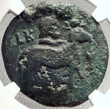ANTONINUS PIUS Authentic Ancient Roman Coin w SERAPIS & RAM NGC Certified i69793