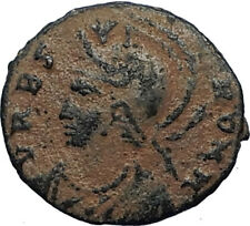 ANONYMOUS Constantine the Great Dynasty 337AD Roman Coin VRBS ROMA i67501