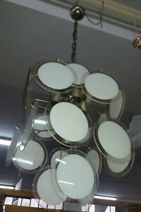 Lampadario paralume della nonna vetro murano originale anni '60; Lampadario Anni 60 70 Acquisti Online Su Ebay