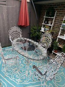 antique patio garden furniture sets