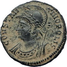 CONSTANTINE I the GREAT Founds Constantinople Original Ancient Roman Coin i67530