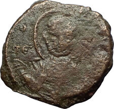 CRUSADERS of Antioch Tancred Ancient 1101AD Byzantine Time Coin St Peter i69663