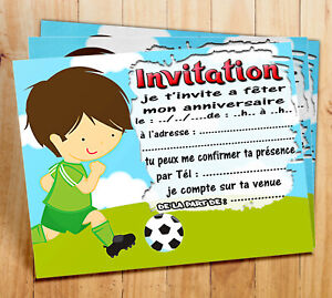 papeterie anniversaire football