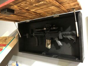 wooden wall mountable gun cabinets