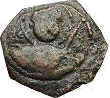 CRUSADERS of Antioch Tancred Ancient 1101AD Byzantine Time Coin St Peter i69504