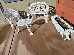 cast iron outdoor furniture sets for