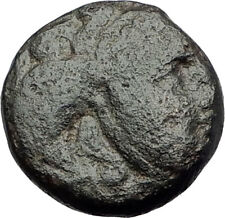SELEUKOS I Nikator 312BC Genuine Ancient SELEUKID Greek Coin MEDUSA BULL i64555